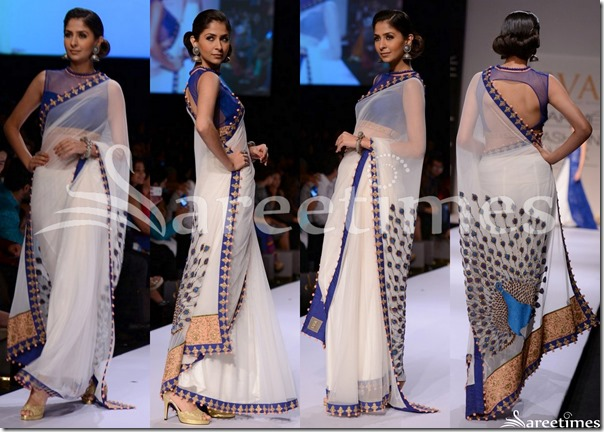 SVA_White_Saree