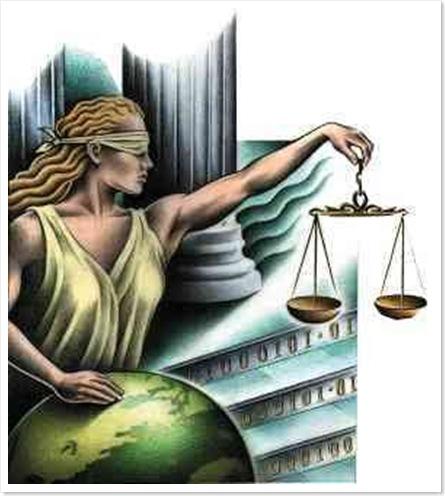 una justicia de capa caida