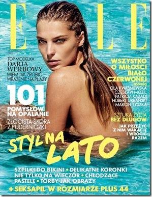 Daria-Werbowy-Elle-Magazine-July-2011