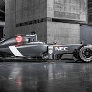 Sauber C33 F1 car launch pictures