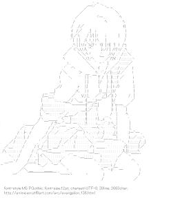 [AA]Ayanami Rei (Evangelion)