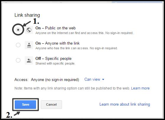 share-public-google-drive
