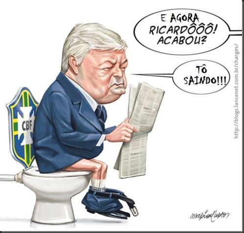 Ricardo fora