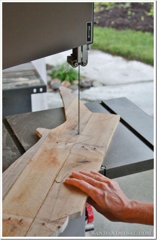 Using a band saw