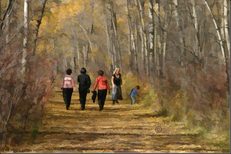 Walk in the park painting copy
