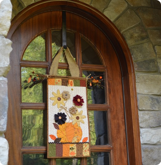 fall doorhanging