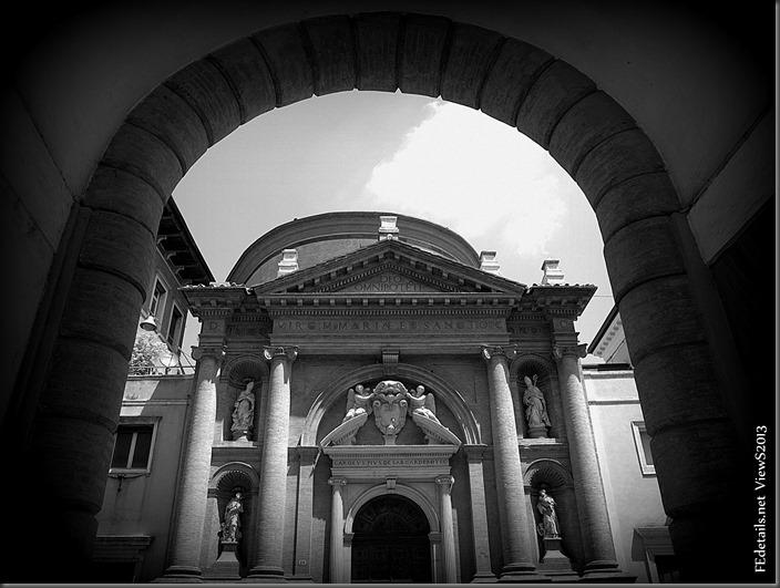 Chiesa di San Carlo, Ferrara, Italia - Church of St. Charles, Ferrara, Italy