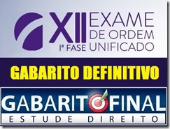 XiI OAB - preliminar 1ª fase - 2013.3