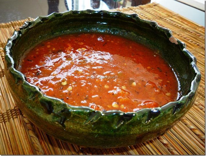 receta para salsa