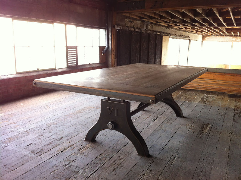 Vintage Industrial Dining Room Table. 290345 296634043694390 118240128200450 1083326 1731917051 o jpg dining table  Vintage Industrial Furniture
