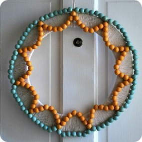 WoodBeadSummerWreath