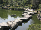The Fukagawa Kiyosumi Teien Gardens: stones in the garden were imported from across Japan