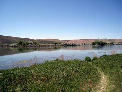Three Island Crossing of the Snake River