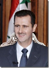 Bashar al-Assad protests