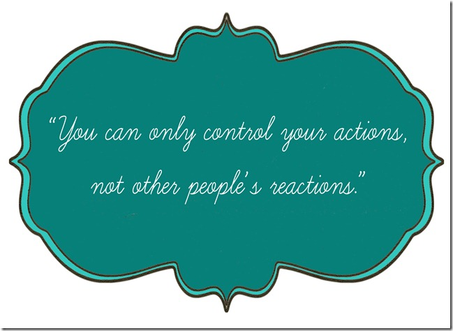 reactions and actions copy