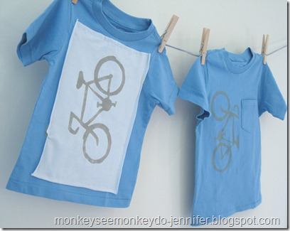 embellished t-shirt for boys with bike