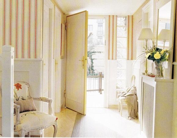 Ideas para dise ar recibidores y los pasillos de la casa - Pasillos con zocalo ...
