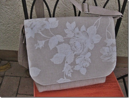 Messanger Bag flower flap
