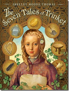 book cover of The Seven Tales of Trinket by Shelley Moore Thomas