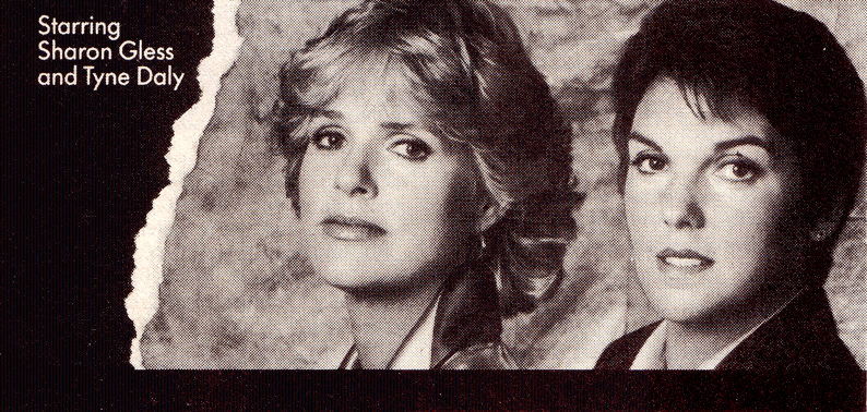 'Cagney & Lacey' ad from an old paper