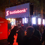 scotiabank rave at Nuit Blanche 2014 in Toronto, Ontario, Canada