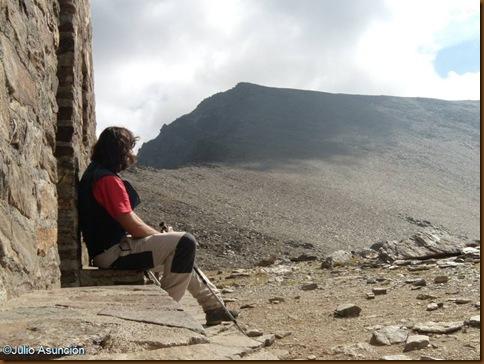 En el refugio de la caldera - Sierra Nevada - Granada