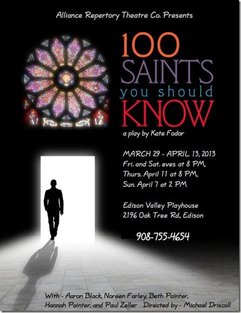 alliance saints flyer