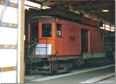 North Shore Line Interurban Line Car #604 at the Illinois Railway Museum on May 23, 2004