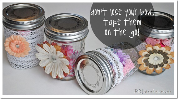 easy on the go jars for accessories