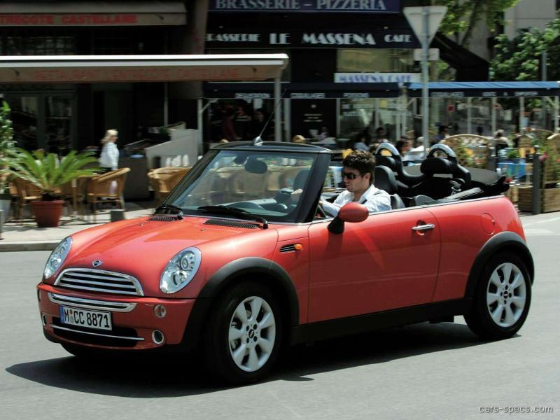 2005 MINI Cooper Convertible Specifications Prices