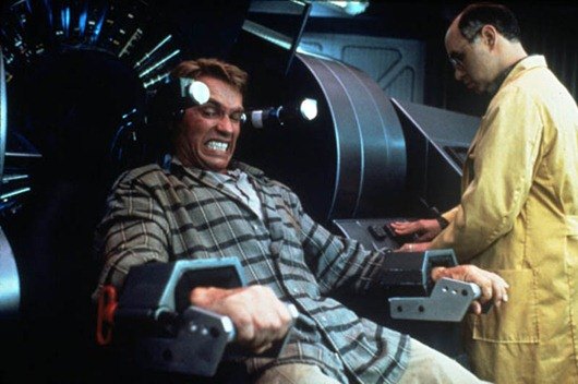 VARIOUS...No Merchandising. Editorial Use Only<br /> Manadatory Credit: Photo by SNAP / Rex Features (390858mi)<br /> FILM STILLS OF 'TOTAL RECALL' WITH 1990, ARNOLD SCHWARZENEGGER, PAUL VERHOEVEN IN 1990<br /> VARIOUS<br /> <br />