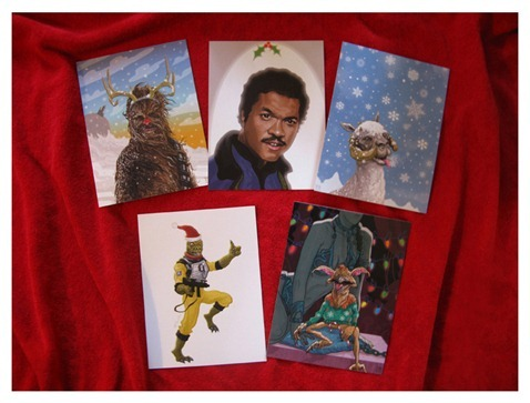 Star-Wars-Christams Cards- by-PJ-McQuade