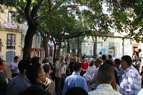 Acceso a la Galeria del Tossal. Barrio del Carmen. Valencia (España).
