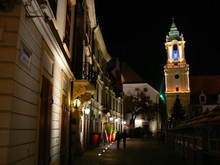 Obiective turistice Slovacia: centru Bratislava