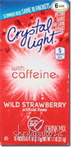 crystal light with caffeine