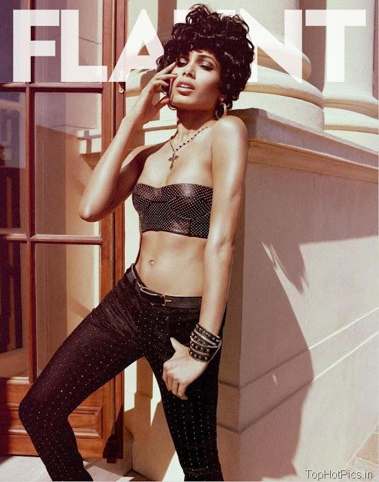 Freida Pinto Sexy 2012 Pics from Magazine 1