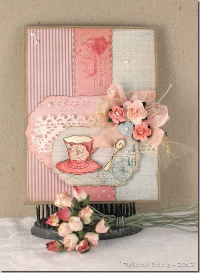 rose tea cup tstr dt card