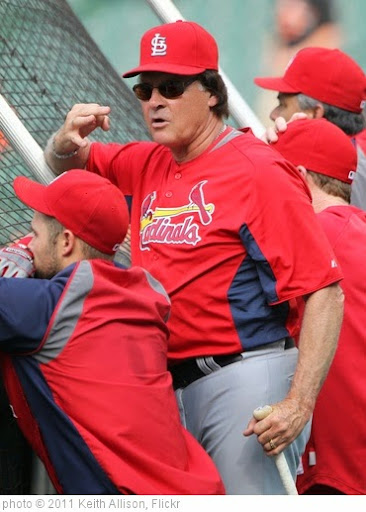 'St. Louis Cardinals manager Tony La Russa (10)' photo (c) 2011, Keith Allison - license: https://creativecommons.org/licenses/by-sa/2.0/