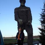 a giant at the zaanse schans in zaandam in Zaandam, Noord Holland, Netherlands