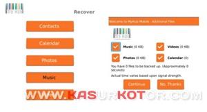 Backup Kontak, Kalender, Foto, Musik dan Video di BlackBerry dengan MyHub