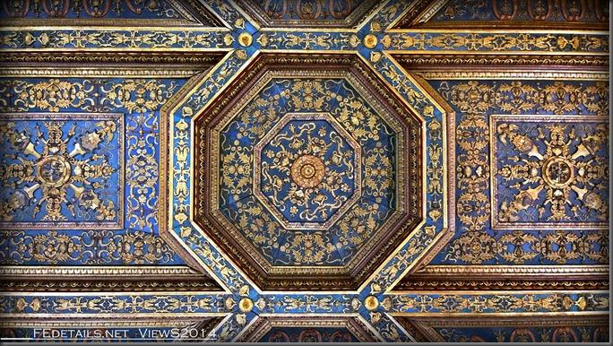 Palazzo Schifanoia, La Sala degli Stucchi, Foto1