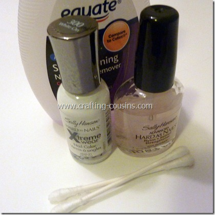 DIY french tip nails (2)
