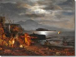 Oswald_Achenbach_-_Nächtliche_Küste_bei_Neapel_im_Mondlicht_(1886)