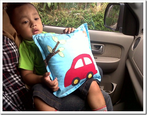 Ardan with Kids Pillow Kucinta Handmade.