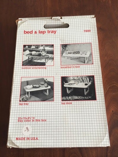 7800 bed tray by Olaf von Bohr for Beylerian, box bottom