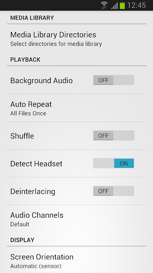 GoodPlayer Pro for Android Screenshot 3