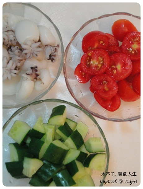 油醋涼拌小花枝 olive oil squid (4)