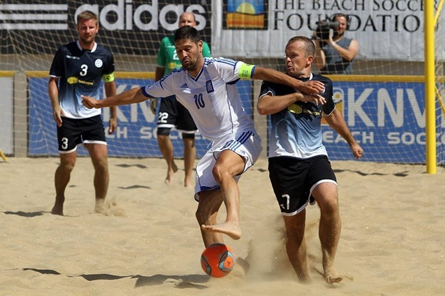 Προκρίθηκε στα τελικά η Εθνική ομάδα Beach Soccer – Μπράβο και στον Βαγγέλη Μαζαράκη