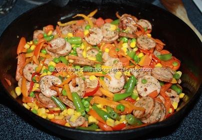 Veggie Sausage Stir-Fry