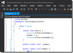 DarkwithLightColorEditorVisualStudio2012